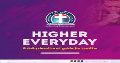 DCLM HIGHER EVERYDAY 11TH AUGUST, 2021 -- DESIRED TO MAKE A DIFFERENCE